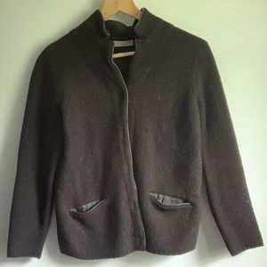 Lord & Taylor Merino Wool Jacket with Pockets